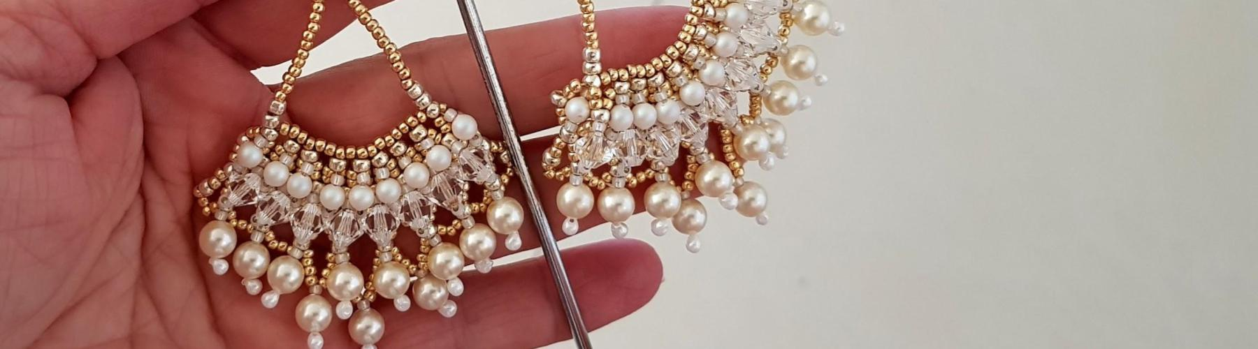 Pearl Earrings For The Purest Love - Kalitheo Jewellery - kalitheo.com.au