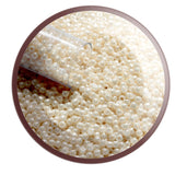11/0 TR-123 Lt Beige Opaque Lustre Round Toho Seed Beads - Beading Supply - Kalitheo Jewellery