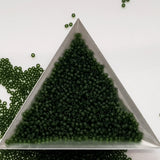 11/0 TR-940F Olivine Frosted Transparent 10g/30g Round Toho Seed Beads | Beading Supply