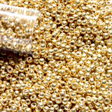11/0 TR-PF 557 Starlight Galvanized Permanent Finish Round Toho Seed Beads - Beading Supply - Kalitheo Jewellery