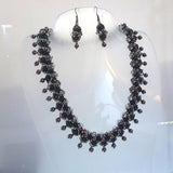 "KTC-267 ""Parisian Nights"" Beaded Necklace - Kalitheo Jewellery"