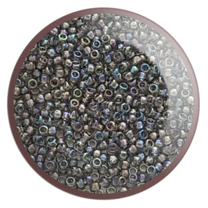 8/0 TR-176 Black Diamond Rainbow Round Toho Seed Beads - Beading Supply - Kalitheo Jewellery