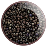 8/0 TR-614 Iris Brown Matte Round Toho Seed Beads - Beading Supply - Kalitheo Jewellery