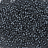 8/0 TR-81 Haematite Metallic Round Toho Seed Beads - Beading Supply - Kalitheo Jewellery