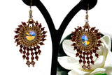 KTC-361 Swarovski Element Statement Earrings (MADE TO ORDER),  Kalitheo Jewellery,