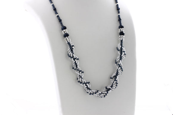 KTC-205B Statement Two Way Long Necklace - Kalitheo Jewellery