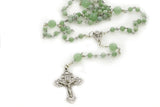 "KTC-301 ""Rosary"" Jade Traditional Five Decade,  Kalitheo Jewellery,"