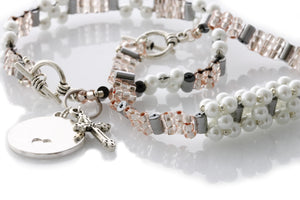 "KTC-339 ""Floating Star"" Friendship Bracelet Set 35%Off - Kalitheo Jewellery"