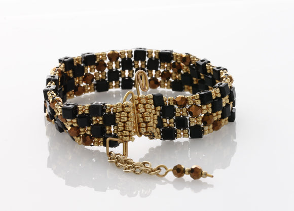 KTC-358 Statement Beaded Bracelet - Kalitheo Creations