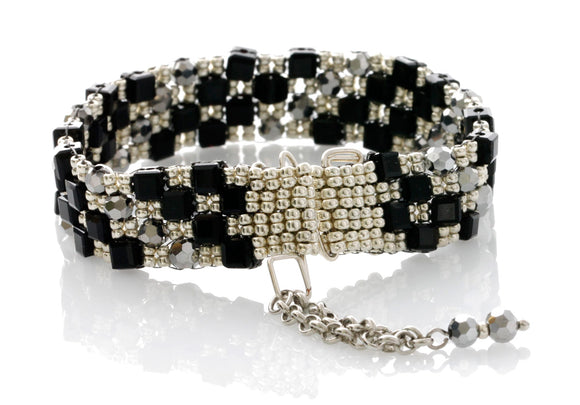 KTC-359 Beaded Statement Bracelet - Kalitheo Jewellery