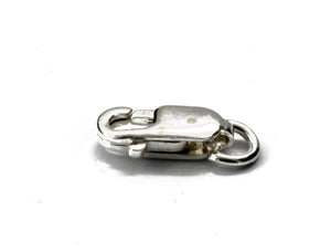 Parrot Clasp Sterling Silver 925 8.0 mm x 2 | SS-004 | Jewellery Making Supply - Kalitheo Jewellery