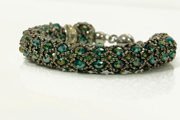 KTC-139 Statement Beaded Bracelet - Kalitheo Creations