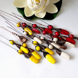 Wire wrapped headpins | Kalitheo Findings