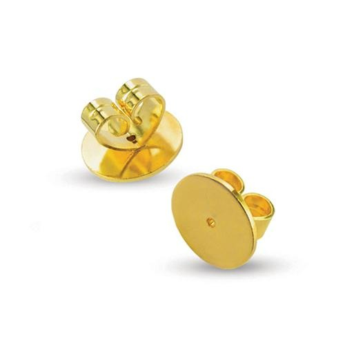 YG18-00865M butterflies disc yellow gold 18ct | Kalitheo BeadsNWire