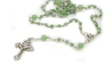 "KTC-301 ""Rosary"" Jade Traditional Five Decade - Kalitheo Jewellery"