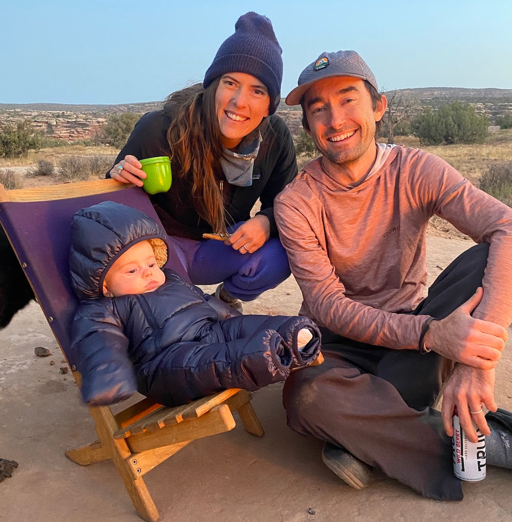 keeping your infant warm while camping