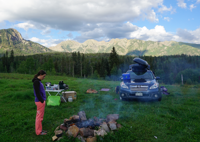 sticker art blog tagged camping in a subaru forester