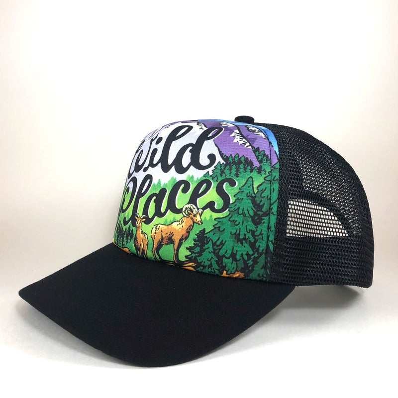 WILD PLACES TRUCKER HAT