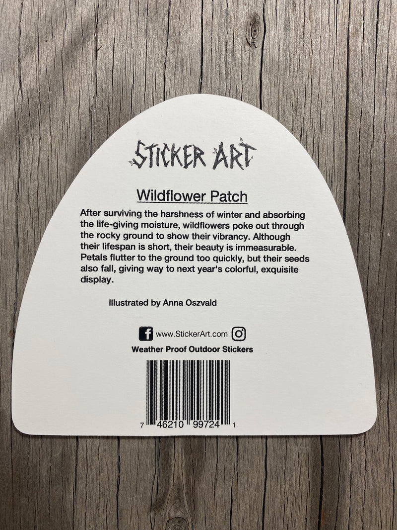 Wildflower Sticker