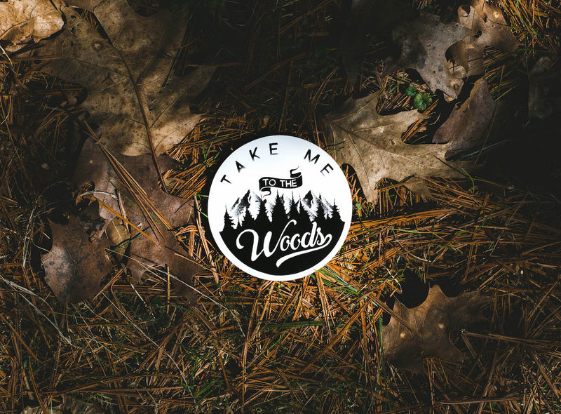 forest trees stickers