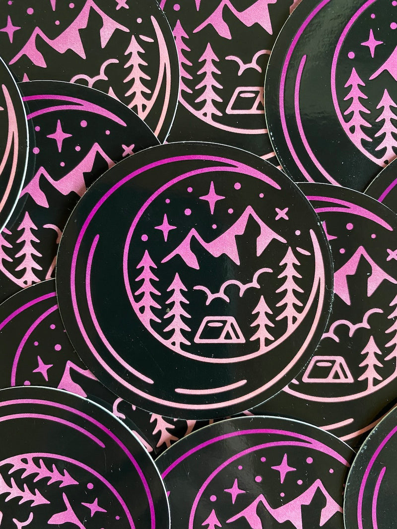 Cosmic Camp Sticker
