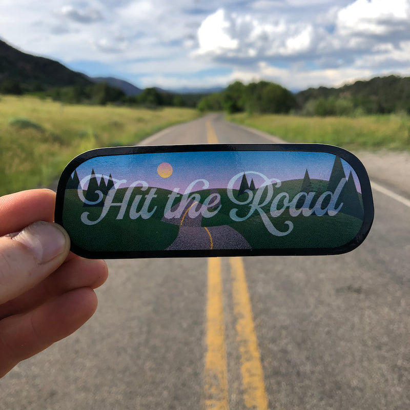 road trip decal