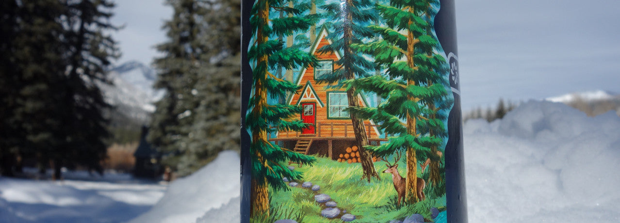 aframe cabin sticker