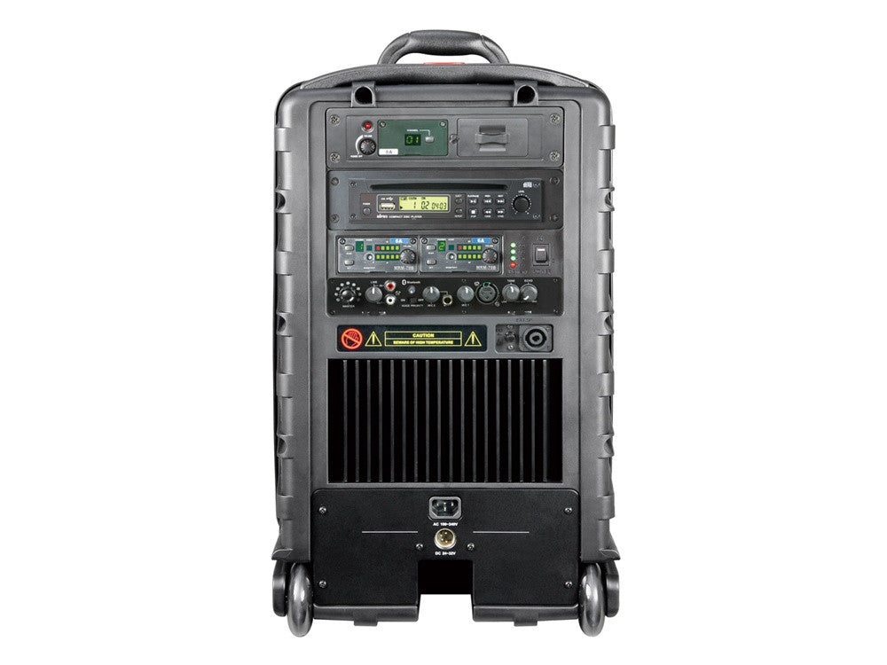 MiPro MA808PAMB-5 Portable PA with wireless receiver