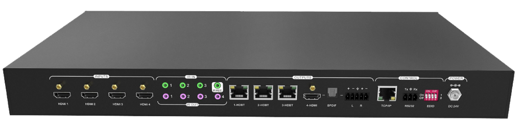 AV Gear CSK-4K-44 V3 -HDBT/HDMI Matrix 4×4 V3