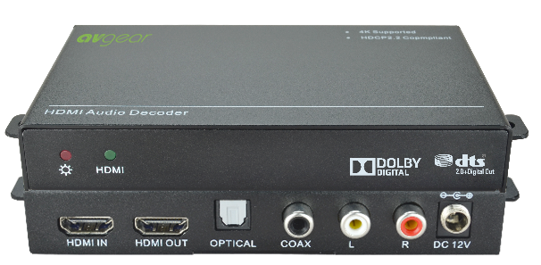 AV Gear DDM-HD - Audio Decoder and downmixer for Dolby & DTS