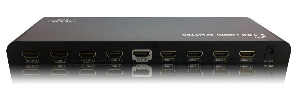 AV Gear UDA8 - 2.0 1 in 8 out HDMI 2.0 Distribution Amplifier