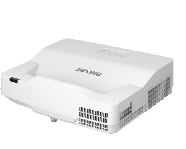 Hitachi/Maxell MPAW3001KIT  3,300 ANSI Lumen WXGA LASER Ultra Short Throw Projector with Wall Mount