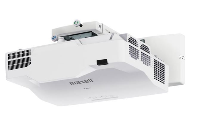 Hitachi/Maxell MPAW4001KIT - WXGA, 4200 ANSI, LASER Ultra Short Throw Projector with Wall Mount