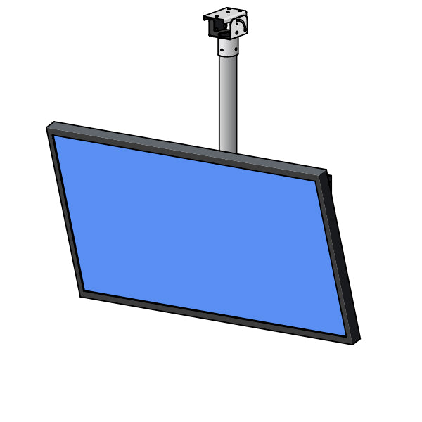 "Ultralift PLT-065 Pole Tilt Ceiling LCD Mount (55""-65"" Panels)"