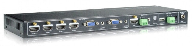 AV Gear DSS61 - 6 in 1 out Mini Scaler Switcher with 4K Support