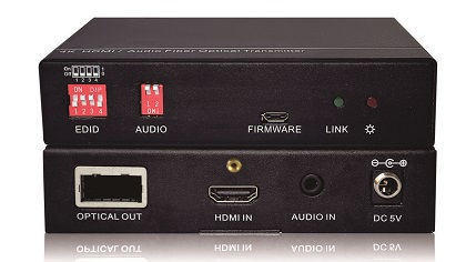 AV Gear FO200 Set - HDMI Optic Fiber Extender Pair