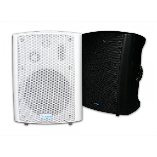 30W Powered Speakers - Wall Mount (Available in Black or White)