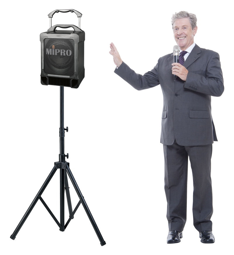 MiPro MA707CDMB-5 Portable PA, 100 Watts With Wireless Receiver and CD/USB/Bluetooth Player