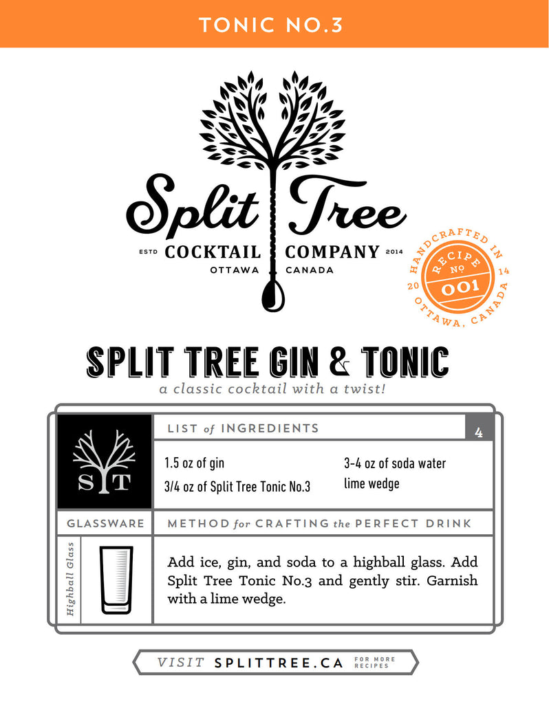 Split Tree Gin & Tonic