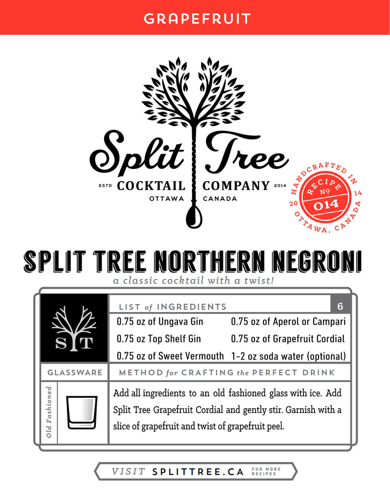 Split Tree Northern Negroni