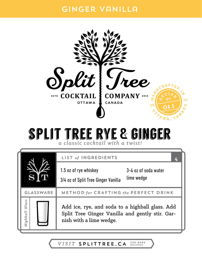 Split Tree Rye & Ginger