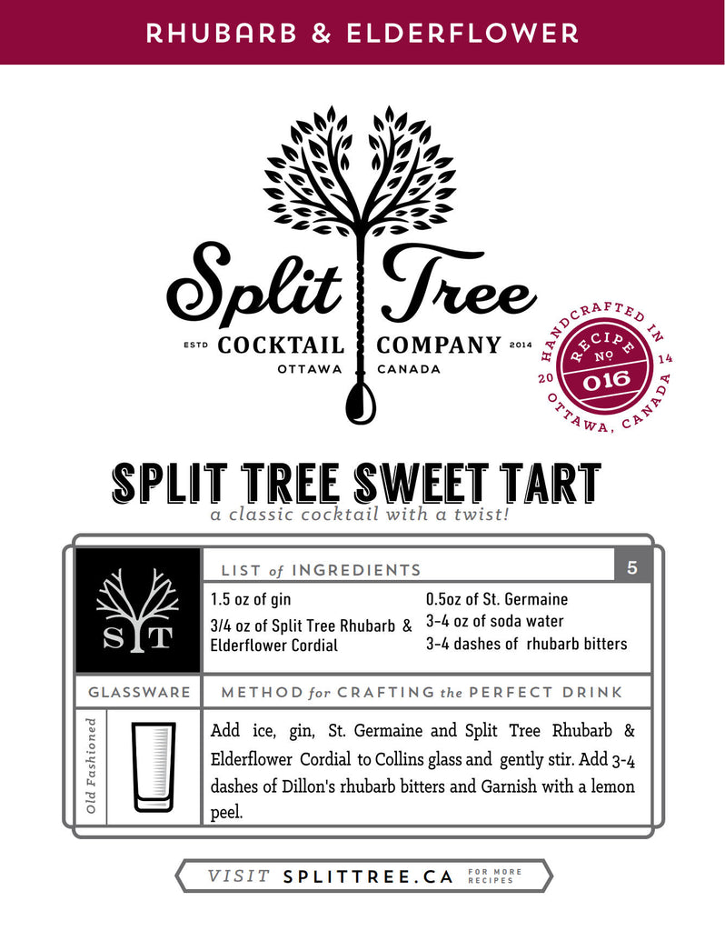 Split Tree Sweet Tart