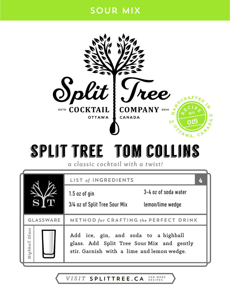 Split Tree Tom Collins