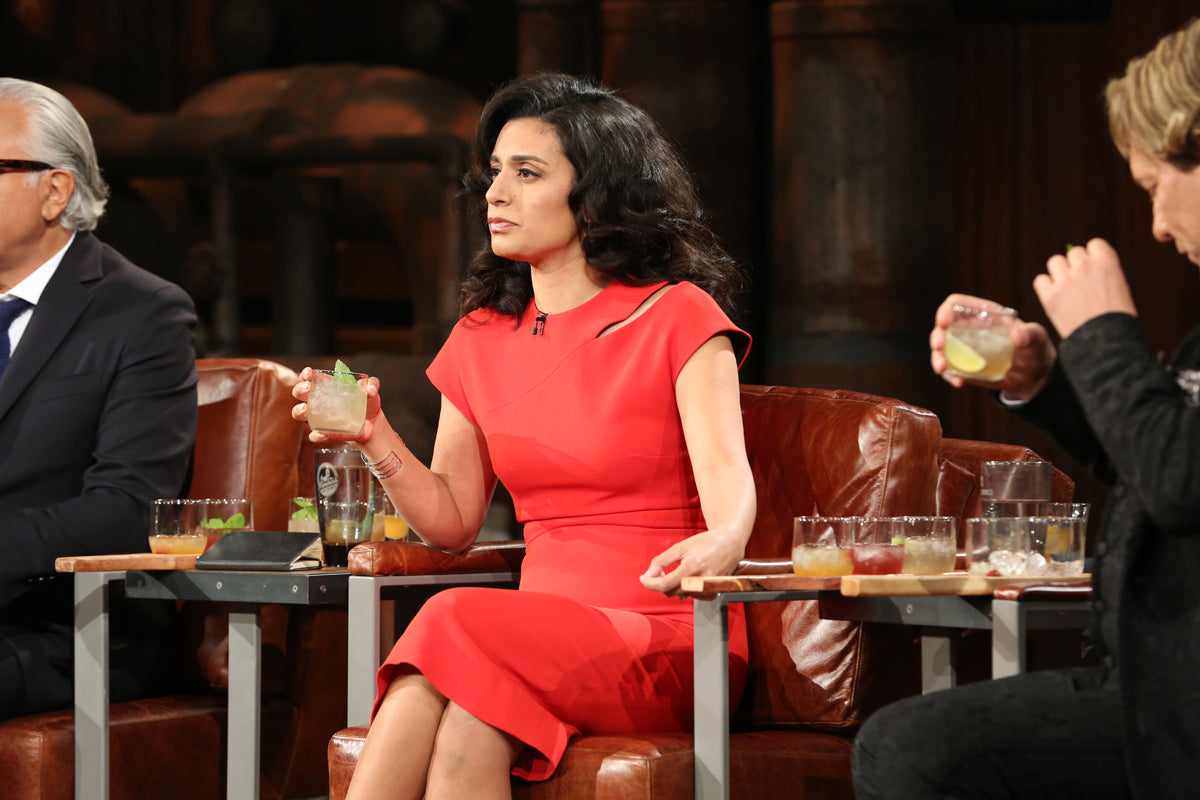 Split Tree Cocktail - CBC Dragons Den pitch. Dragon Manjit Minhas watches Split Tree Pitch
