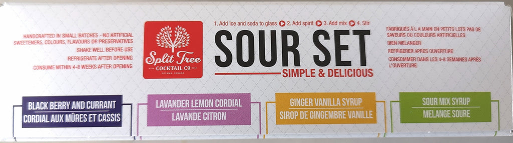 SOUR SET Gift Box - 4 Flavours -4 x 60ml