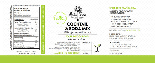 Sour Mix Cordial