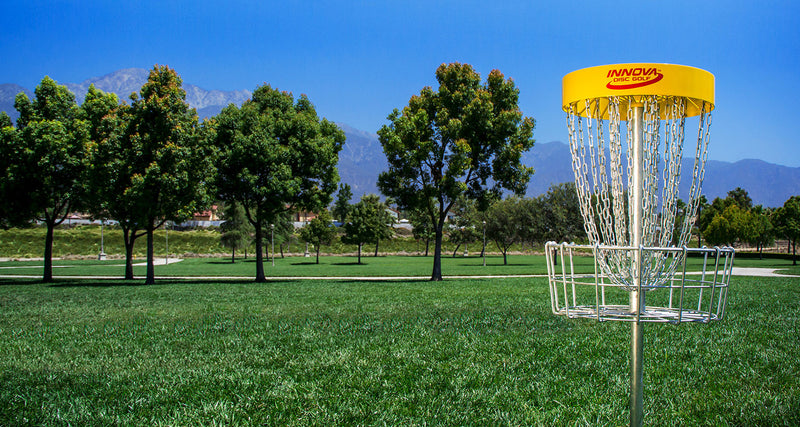 18 New Portable Innova DISCatcher Pro 28 Baskets for B.C. Disc Golf Events