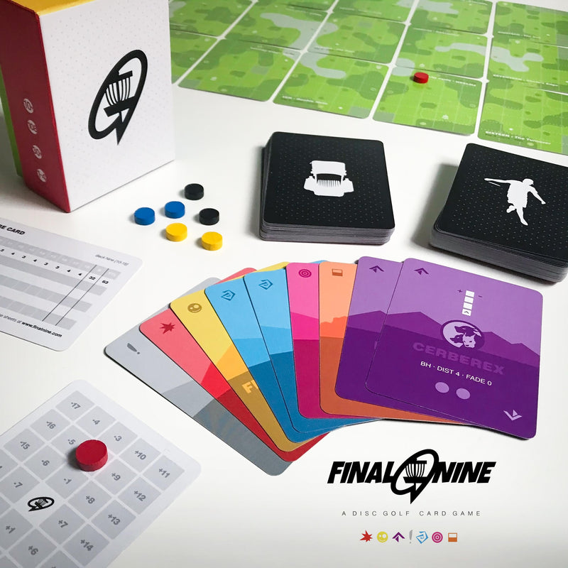 Final Nine: A Disc Golf Card Game