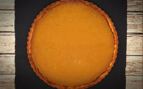 "12"" Pumpkin Tart (Available for Pick Up on November 18-21, 2018)"