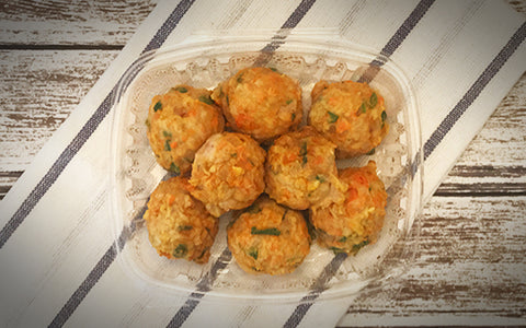 Paleo Coconut Curry Chicken Meatballs